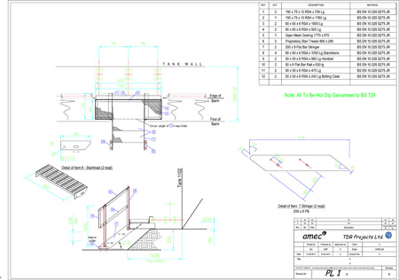 steelwork project
